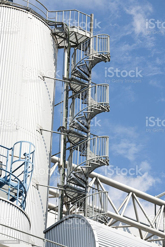 Storage in Refuse Incineration Plant royalty-free stock photo