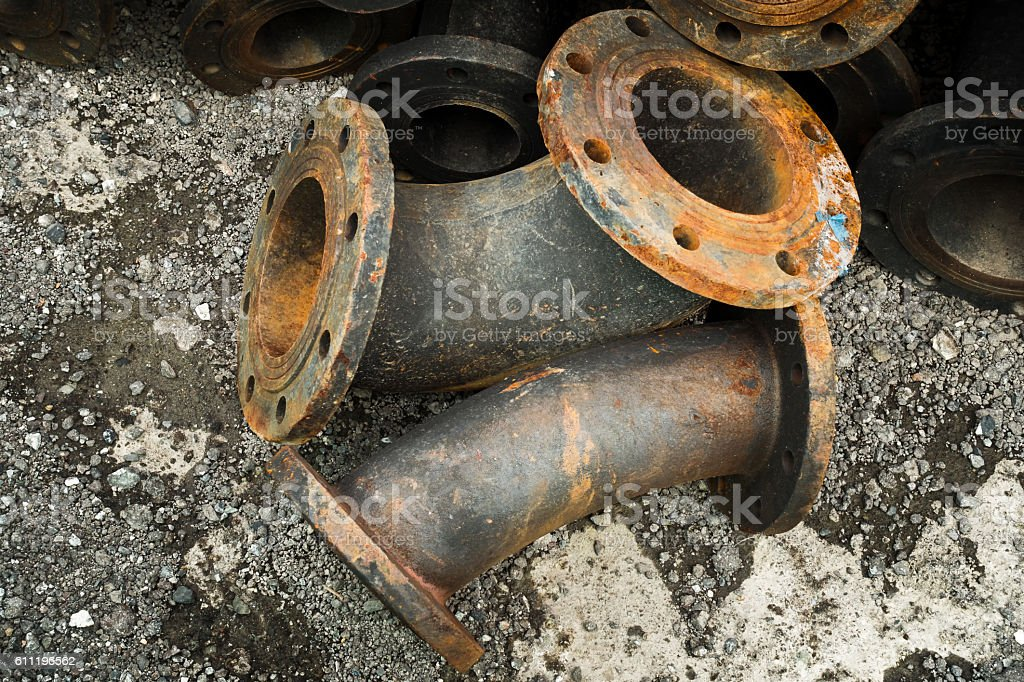 Storage Of Sewage Pipe Fittings Cast Iron Pipe Fittings