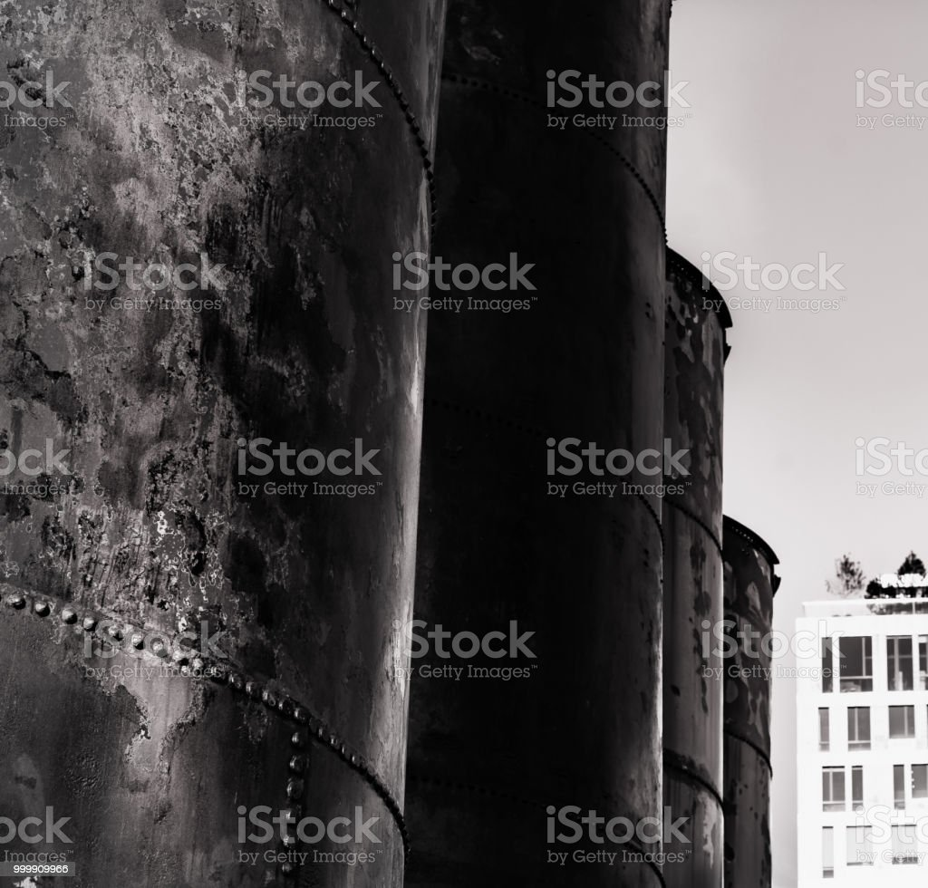 Storage of the Past: Industrial Age stock photo