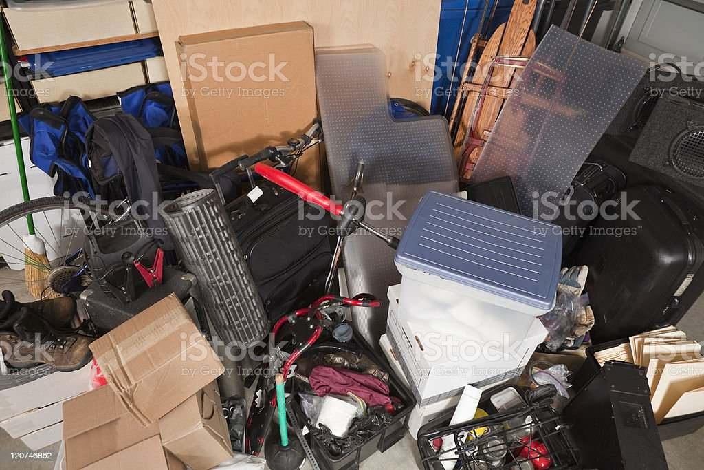 Storage Pile stock photo