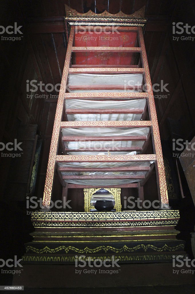 Storage place for the Holy Scriptures stock photo