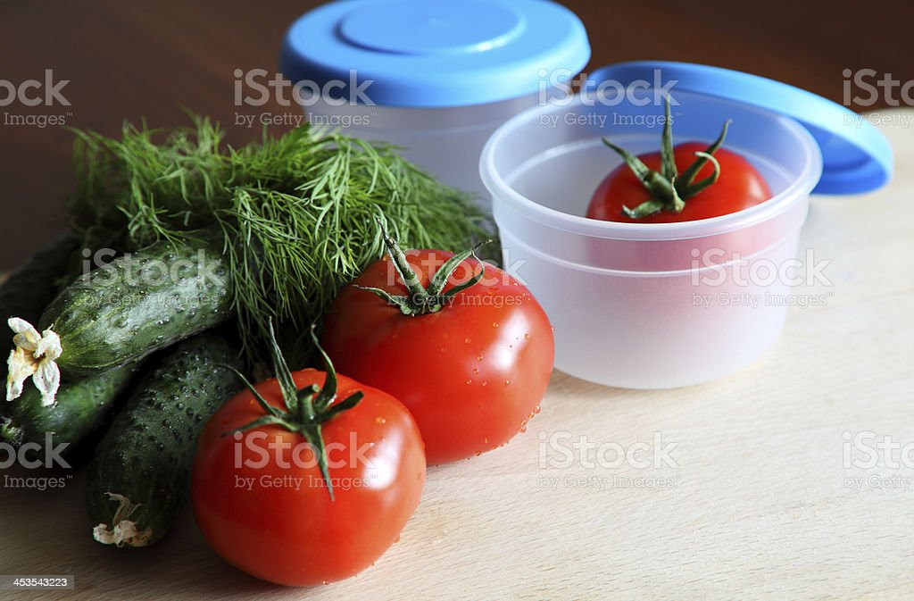 storage plastic containers royalty-free stock photo