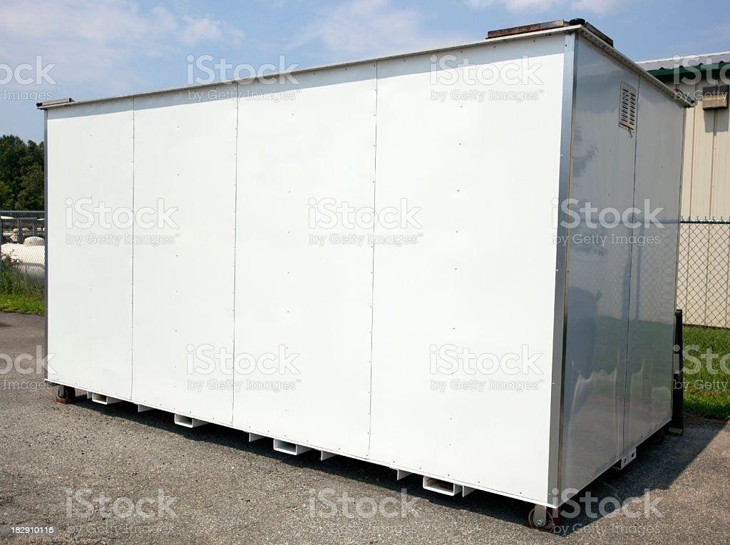 Storage Pod royalty-free stock photo