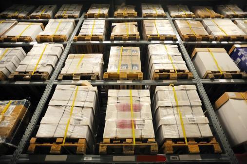 Rack Di Storage - Fotografie stock e altre immagini di Affari