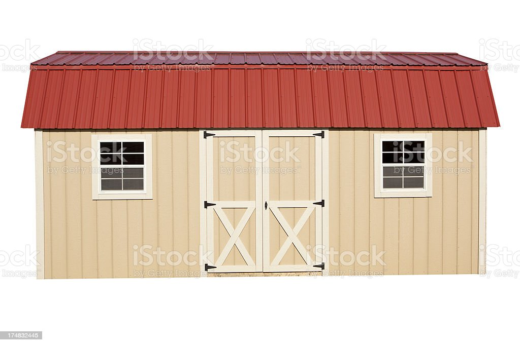 Storage Shed royalty-free stock photo