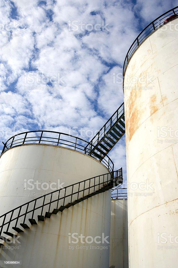 storage tank royalty-free stock photo