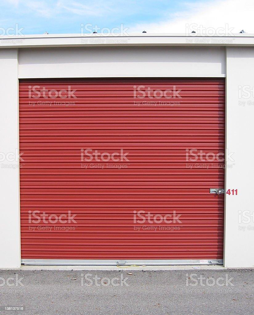 Storage unit single royalty-free stock photo