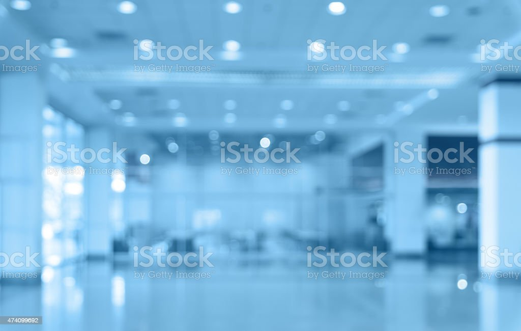 store blur with bokeh background stock photo