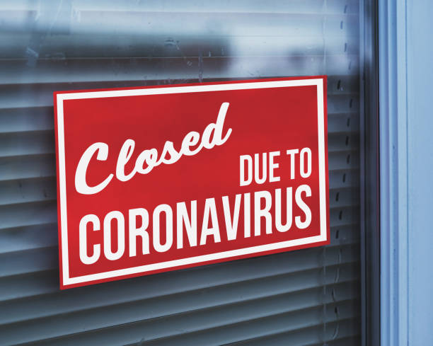 Store Closed Due to Coronavirus – zdjęcie