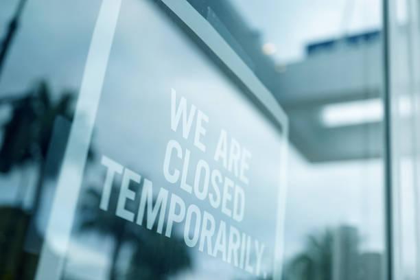 Cтоковое фото Store closed