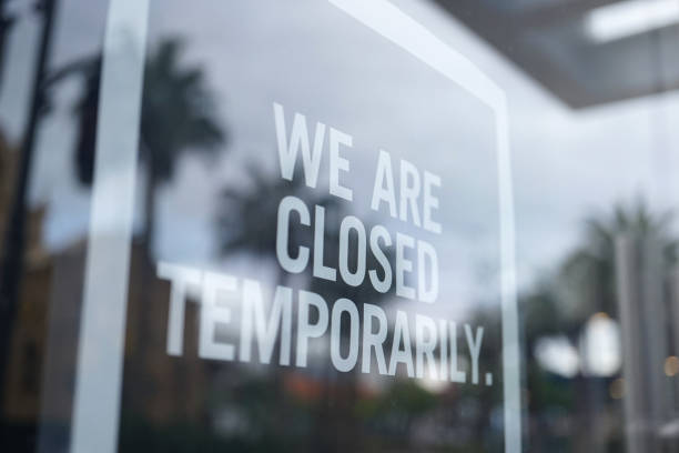 store closed - covid 19 stock pictures, royalty-free photos & images