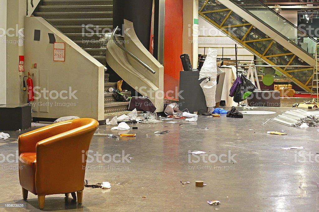 Store closing down stock photo