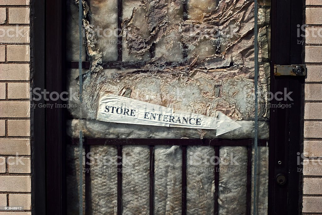 Store Entrance royalty-free stock photo