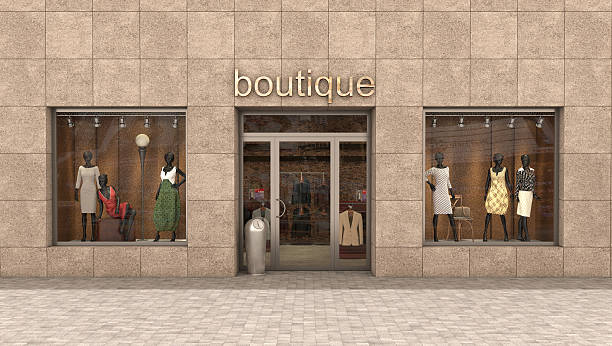 store exterior, stock photo