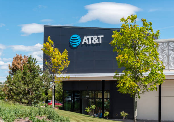 AT&T Store, Fort Collins, Colorado stock photo