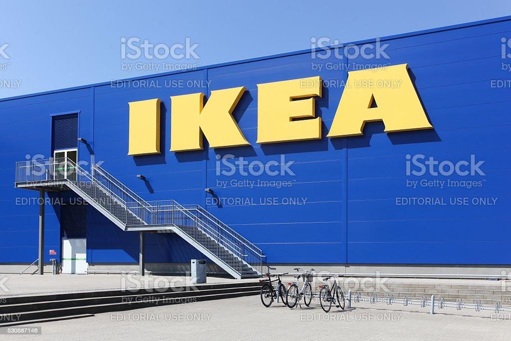 IKEA store in Aalborg, Denmark stock photo