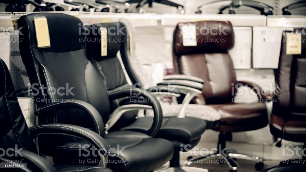 store luxury office leather chairs.