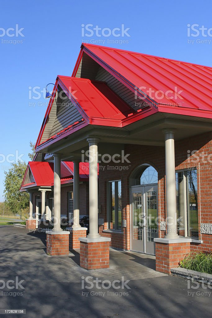 Store Main Entrance royalty-free stock photo