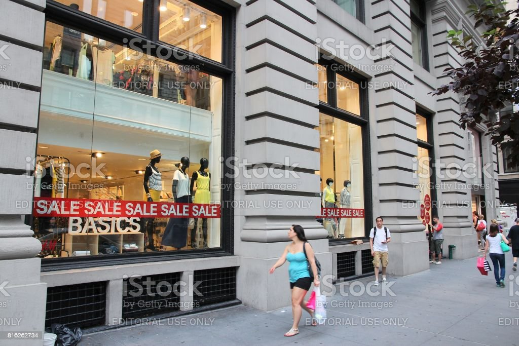 H&M Store NY stock photo