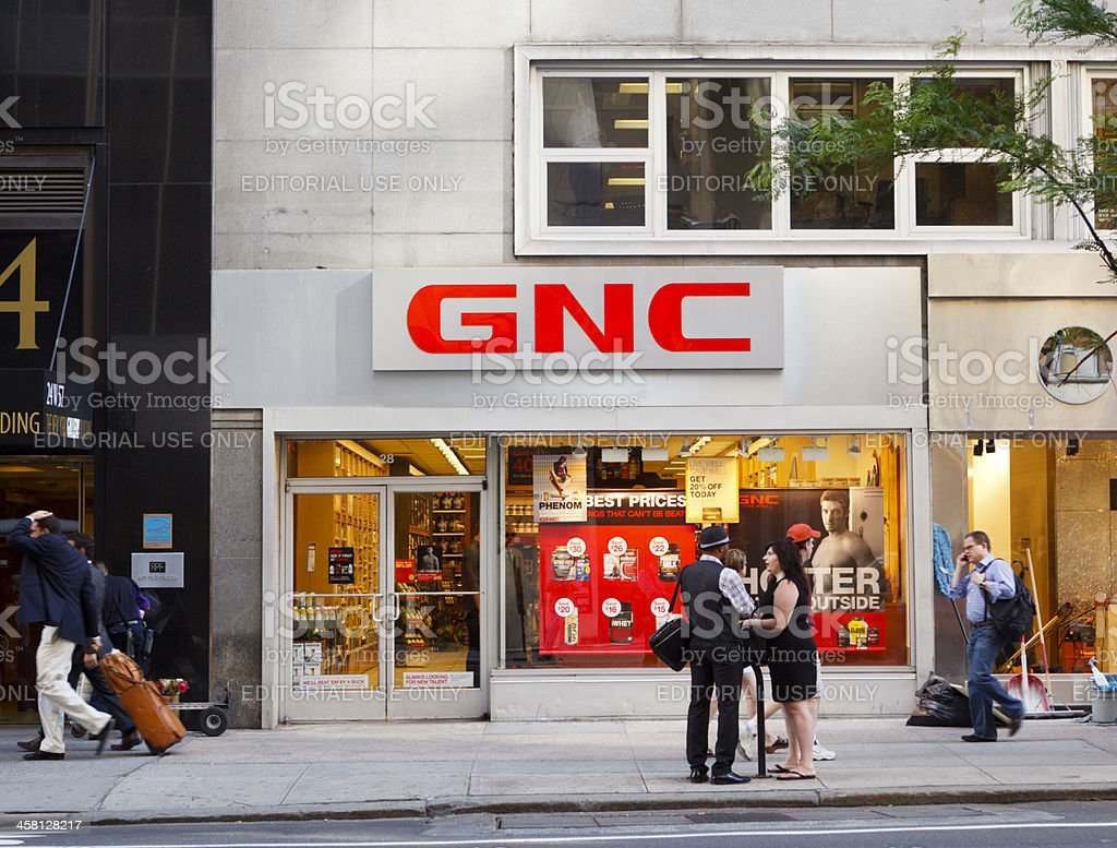 GNC Store on 57th Street New York City