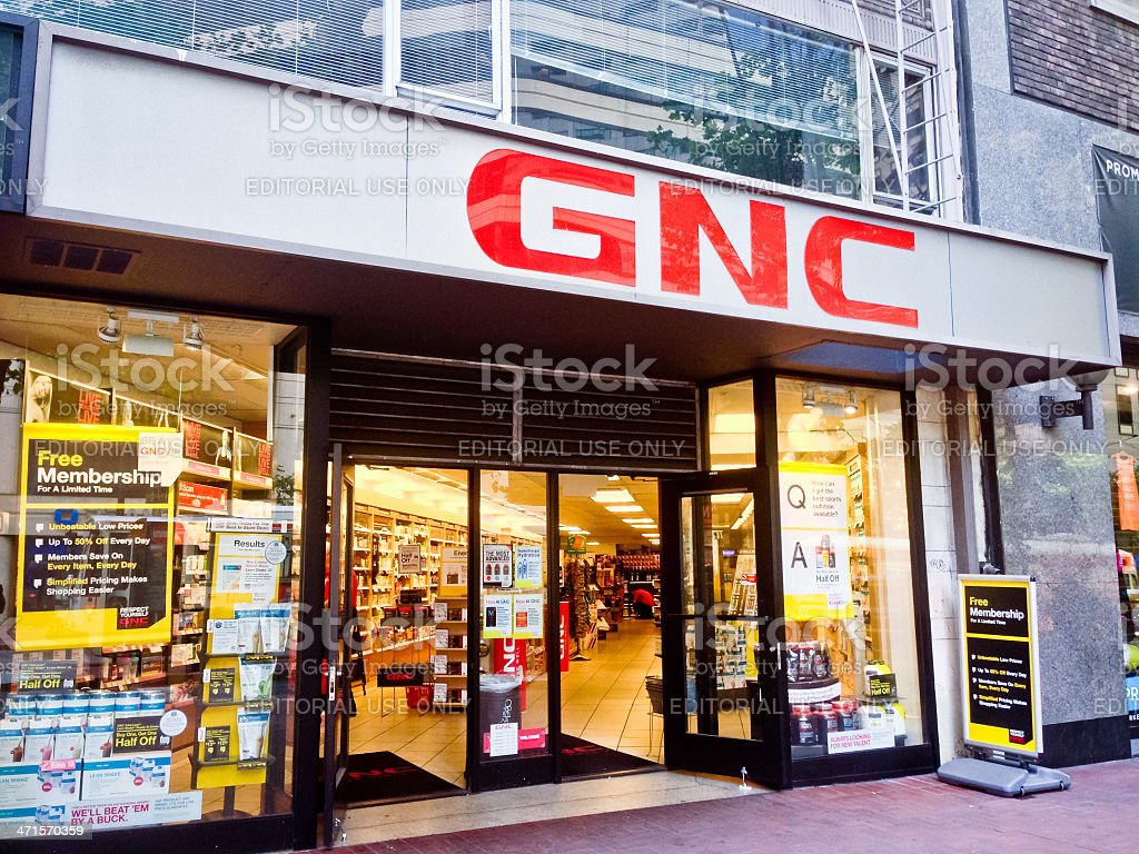 GNC Store on Market Street, San Francisco
