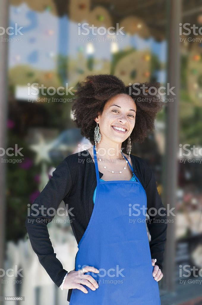 Store Owner royalty-free stock photo