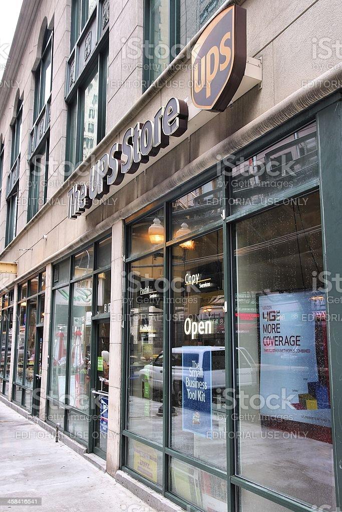 UPS Store stock photo