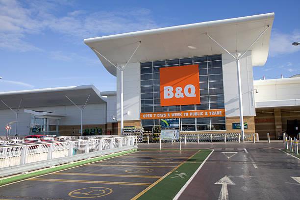 B&Q Store stock photo