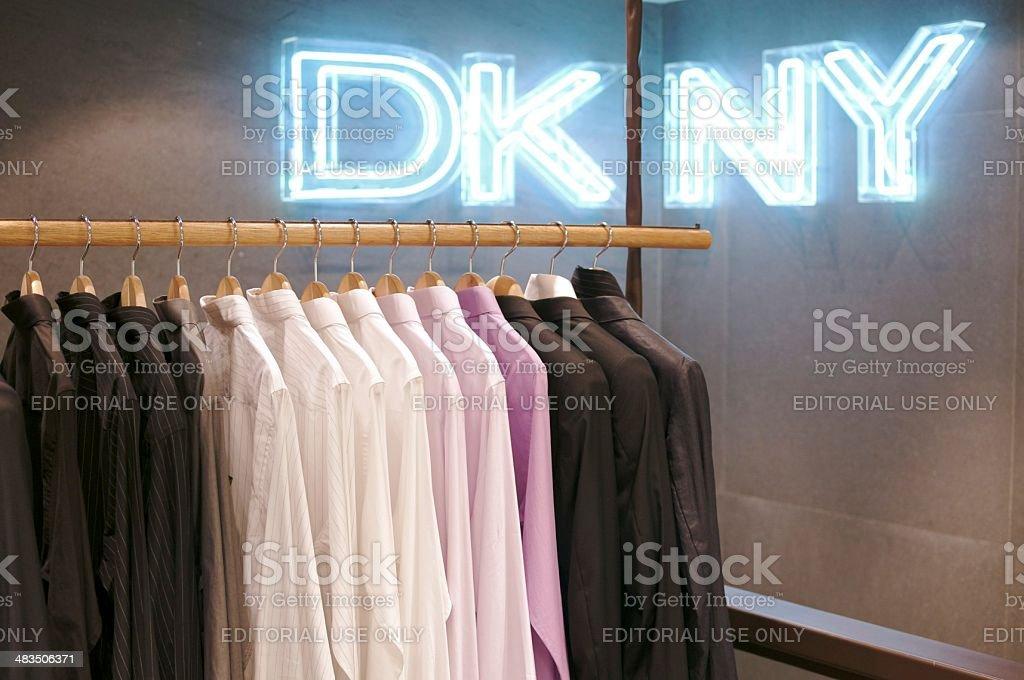 DKNY Store stock photo