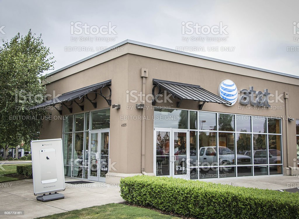AT&T Store stock photo