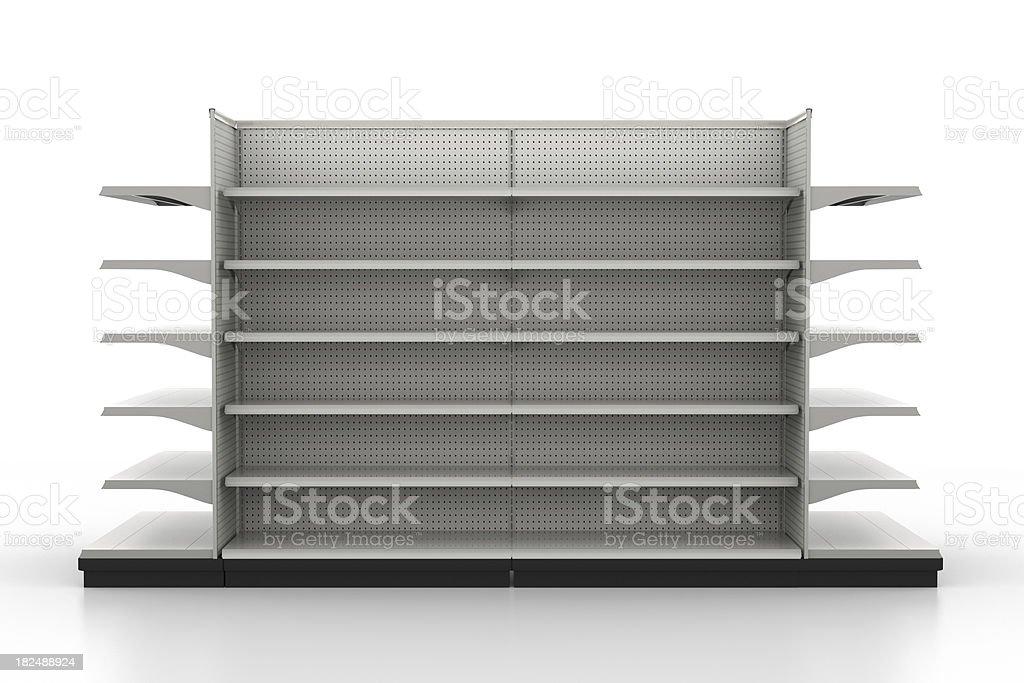 Store Shelves - Retail Environment royalty-free stock photo