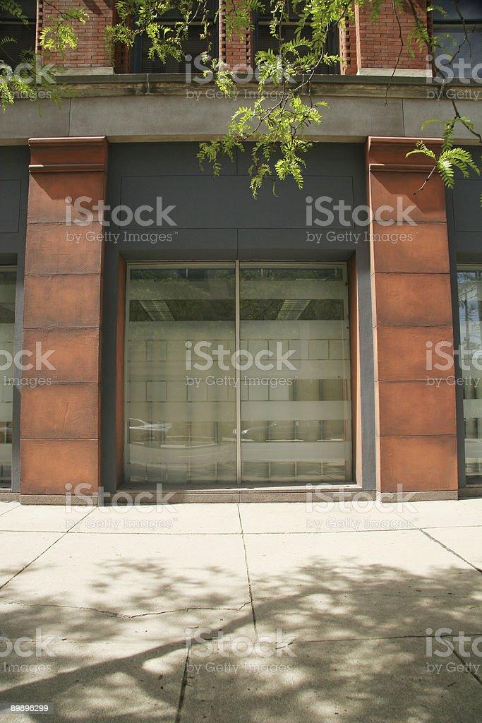 Schaufenster, Dayton, Ohio Lizenzfreies stock-foto
