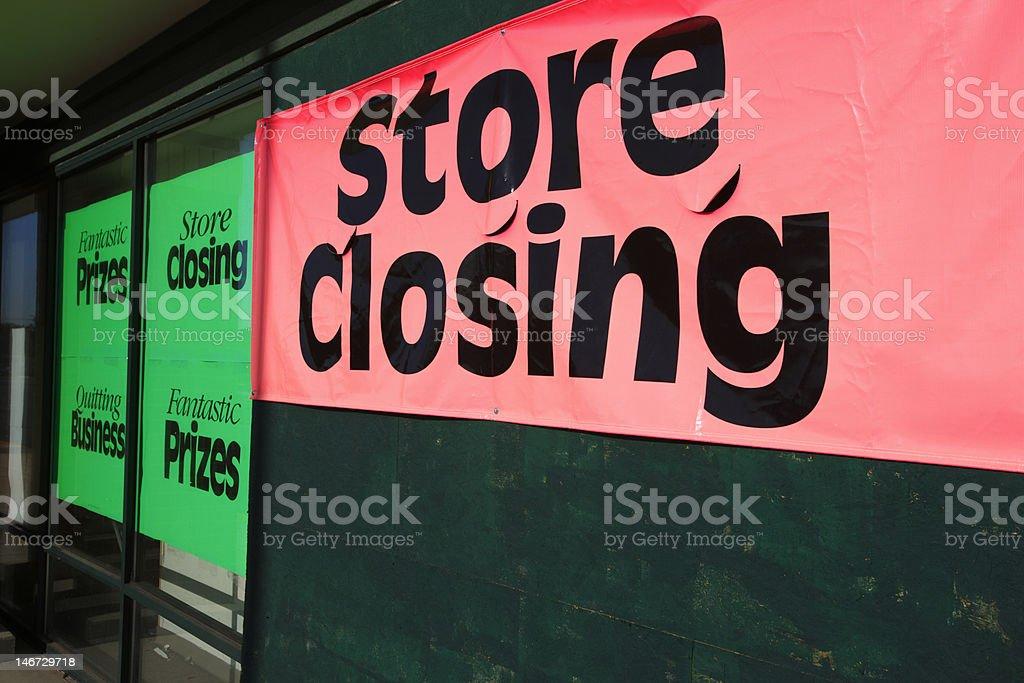 store_closing stock photo
