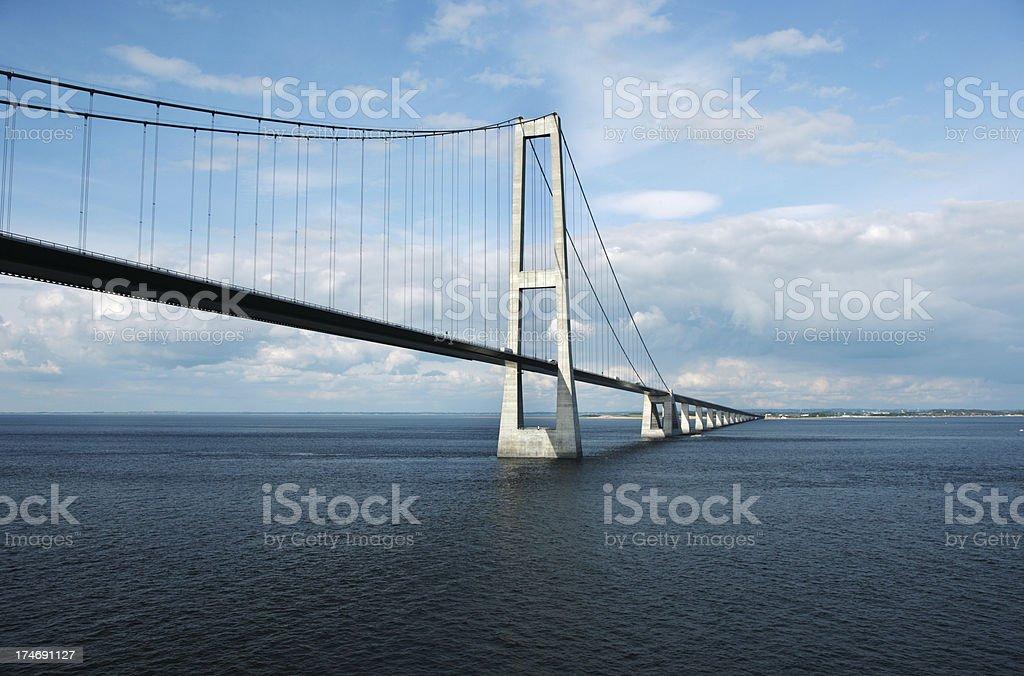 Storebaelt Bridge royalty-free stock photo