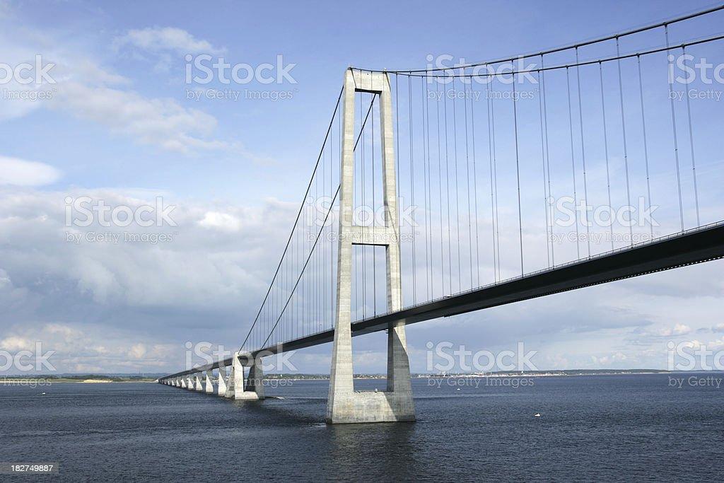 Storebaelt Bridge stock photo