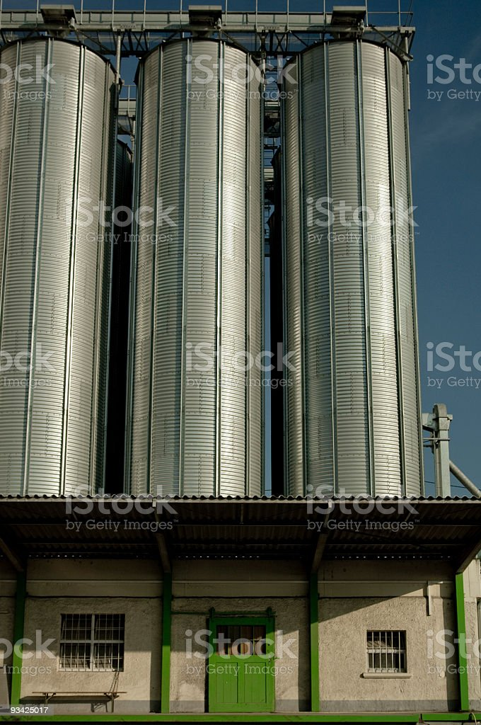 Storehouse and Silo royalty-free stock photo