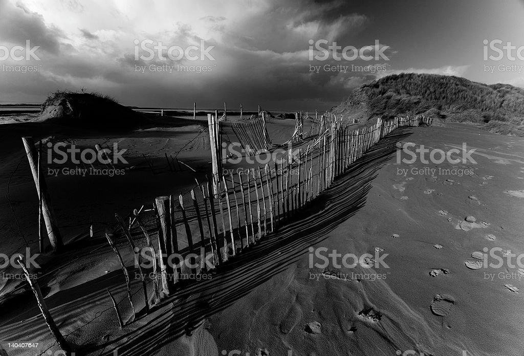 Storm a coming stock photo