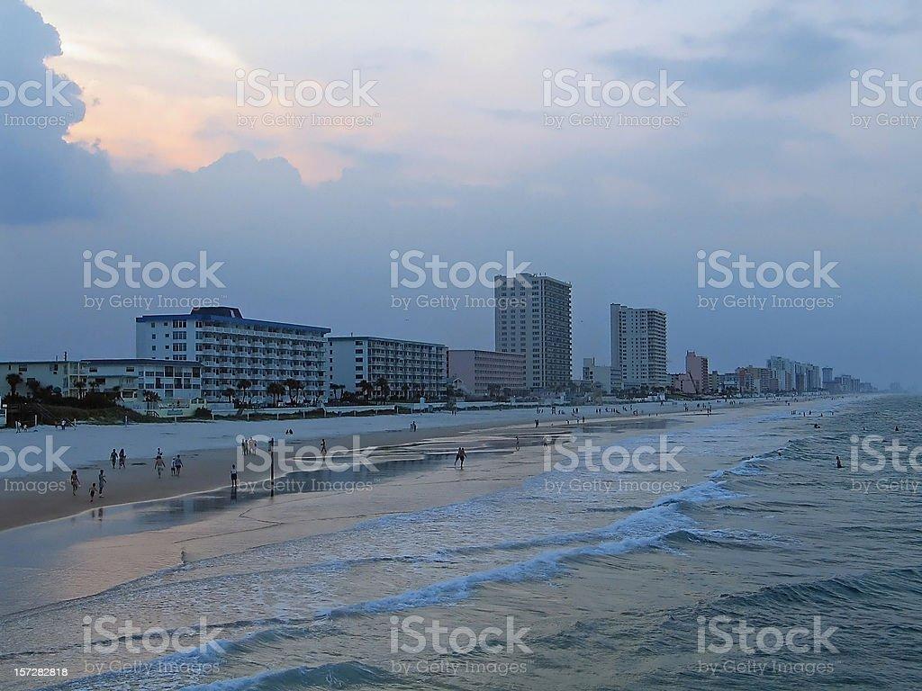 Storm Approaching Daytona Beach stock photo