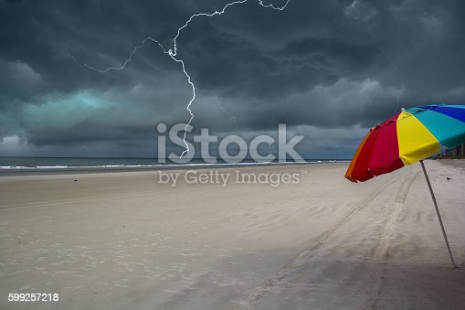istock Storm approaching the beach 599257218