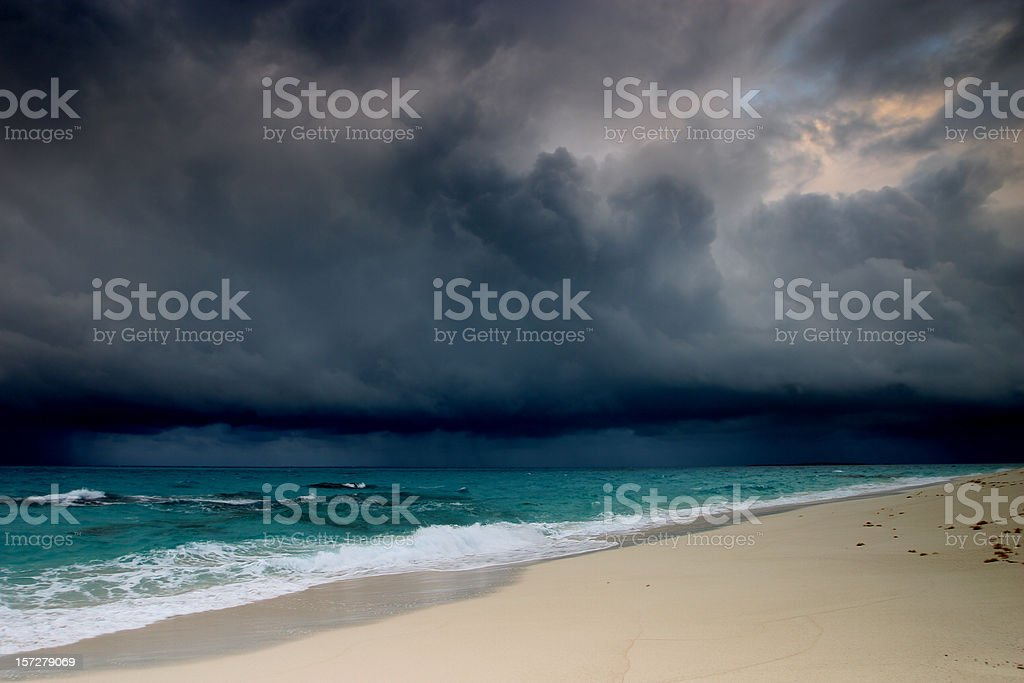 Storm at Sea stock photo