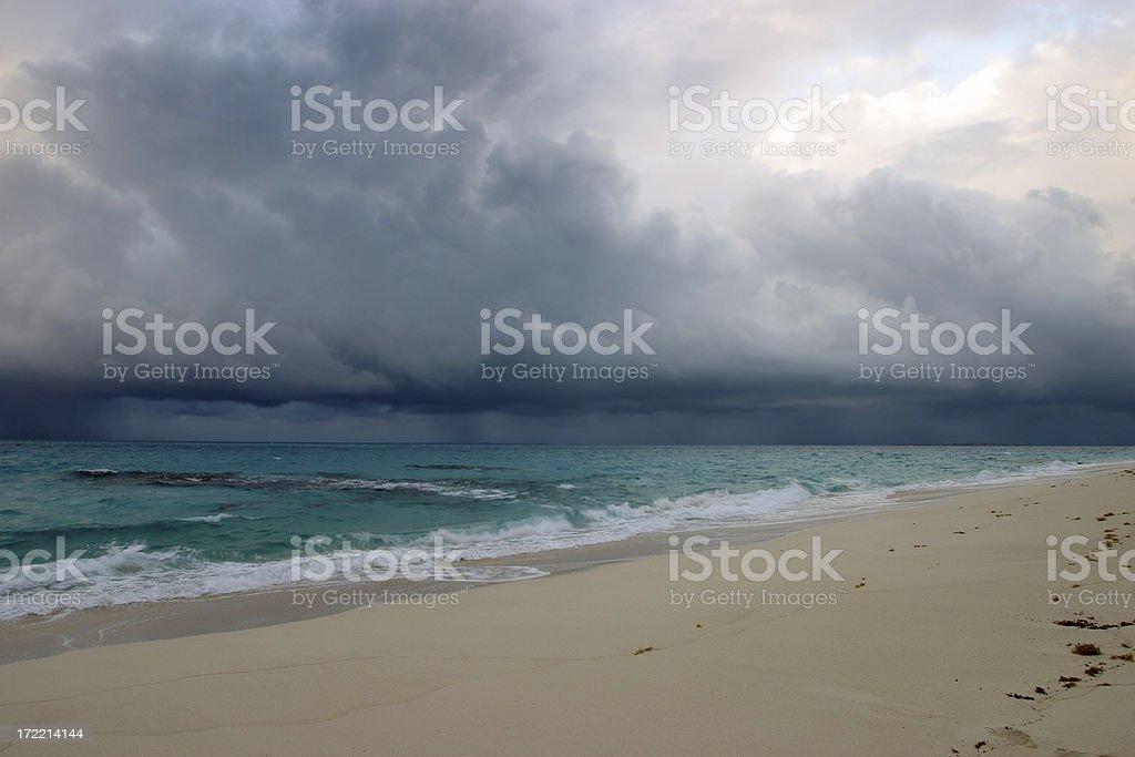 Storm at Sea royalty-free stock photo