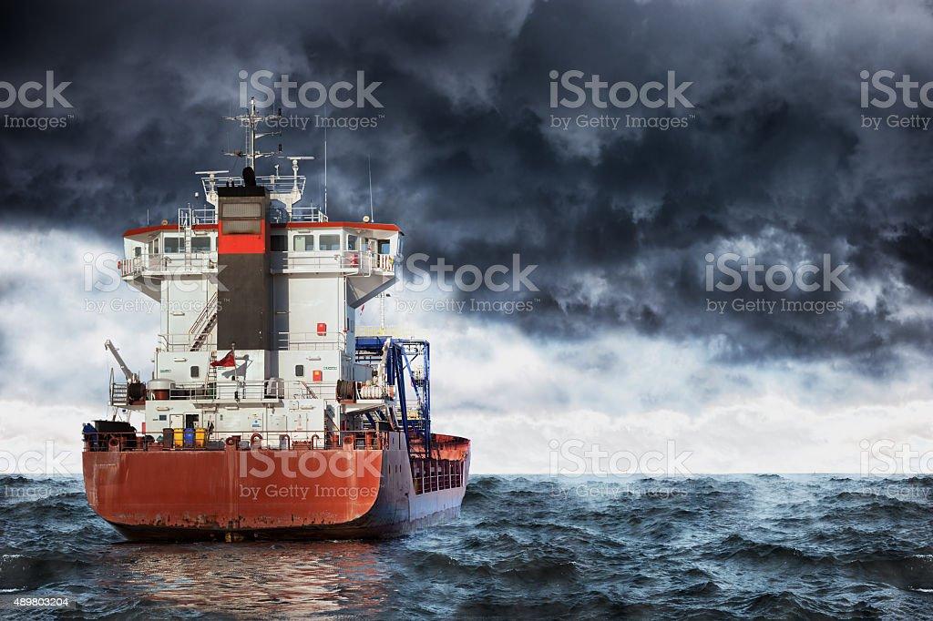 Tempête sur la mer - Photo