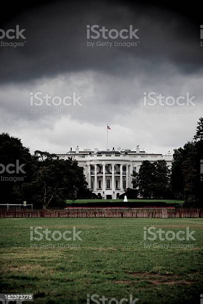 Photo of Storm brewing over the White House