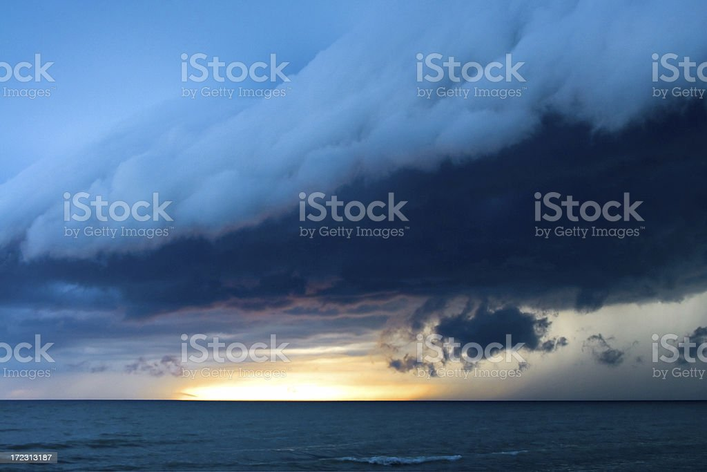 Storm Cell stock photo