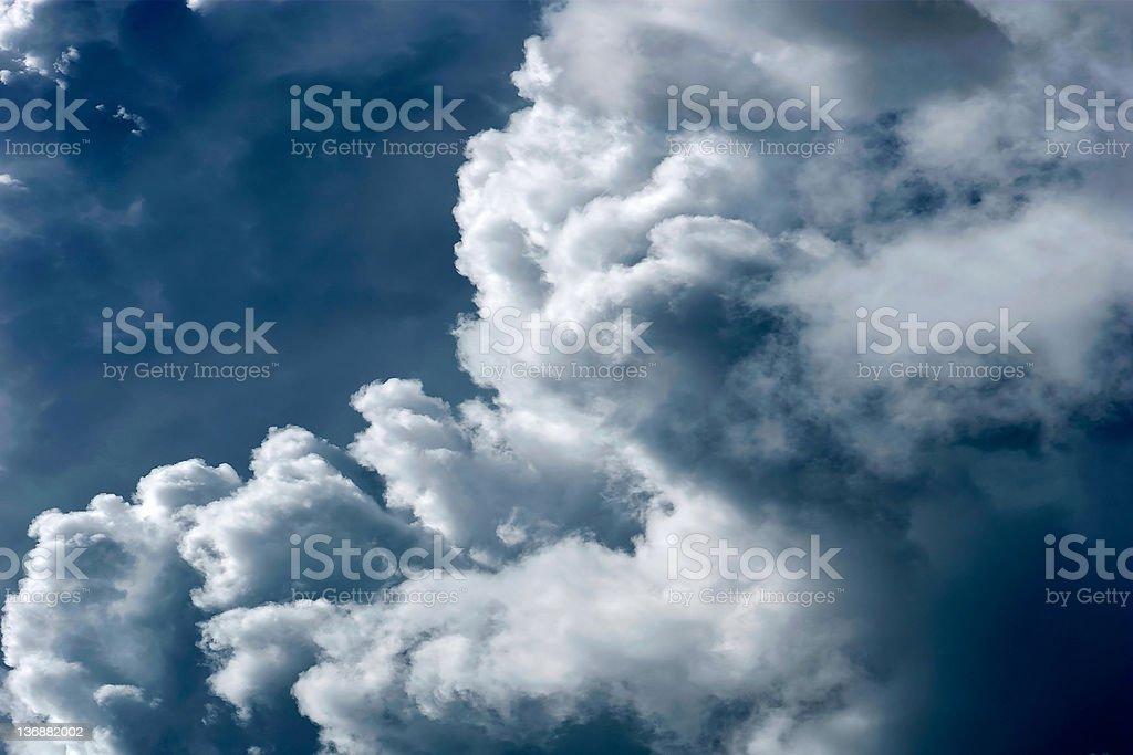 storm cloud close-up royalty-free stock photo