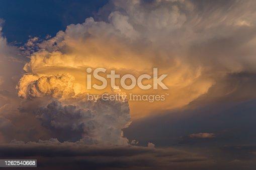 istock Storm Cloud, Dramatic Sky, Sky, Cloud - Sky, Cloudscape 1262540668