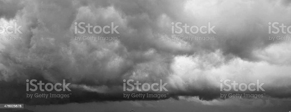 Storm Cloud black & white