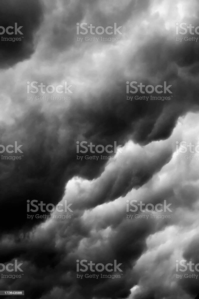 Storm Cloud Series #4 of 6 royalty-free stock photo