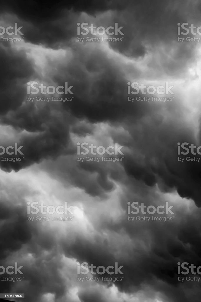 Storm Cloud Series royalty-free stock photo