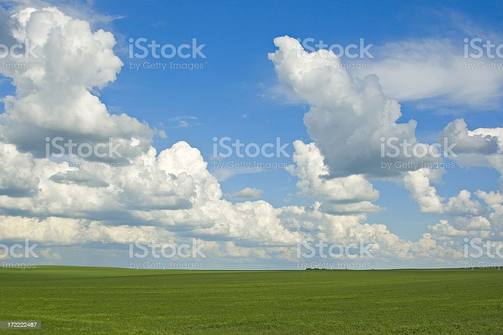 Storm clouds brewing royalty-free stock photo
